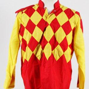 John Gatti Worn Silks Saratoga Race COA 100% Authentic Team