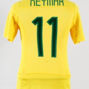 Neymar Game-Worn Jersey Brazil National Team – COA 100% Authentic Team    Provenance. 40436a135