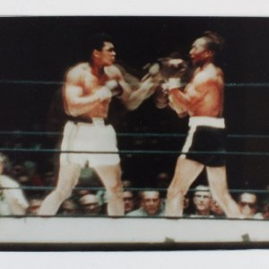"Muhammad Ali vs. Cleveland Williams Vari-View 3D Display 7.5"" x 10"""