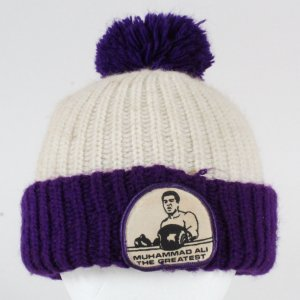 Muhammad Ali Training Camp Hat Winter Tossle Wool Cap