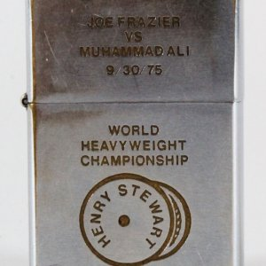 Joe Frazier vs. Muhammad Ali Zippo Lighter
