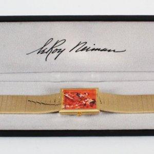 1980's Leroy Neiman Muhammad Ali Watch