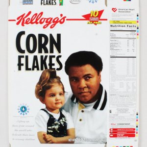 Muhammad Ali Limited Edition Kellogg Box