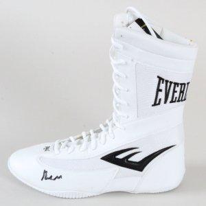 Muhammad Ali Signed Boxing Shoe - COA PSA/DNA