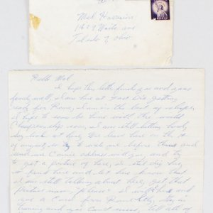 Cassius Clay Signed Handwritten Letter Pre-Olympic 8/1/1960 - COA PSA/DNA, JSA & Provenance LOA