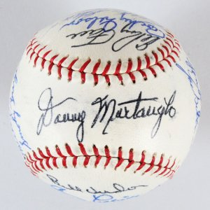1960 Pittsburgh Pirates Team-Signed Ball, Bill Mazeroski