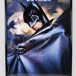 Val Kilmer Signed Poster Batman Forever - COA JSA
