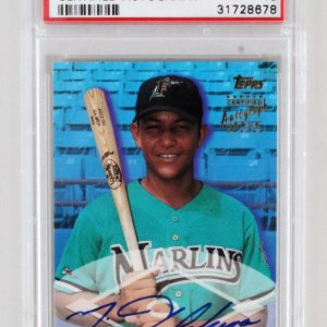 2000 Topps Traded Miguel Cabrera Graded RC Auto Card – PSA 10