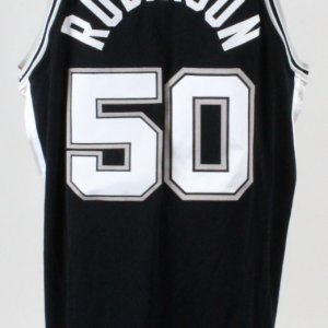 David Robinson Game-Worn Jersey Spurs - COA 100% Authentic Team
