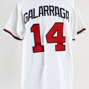 1998 Andres Galarraga Game-Worn Jersey Signed Braves