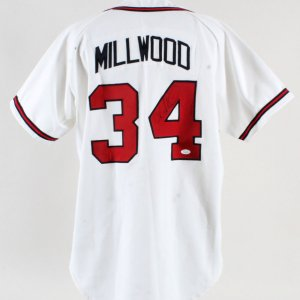 1999 Kevin Millwood Game-Worn Jersey Signed Braves