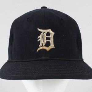 Detroit Tigers Game-Used Baseball Cap