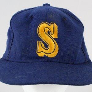 Ken Griffey Jr. Game-Used Baseball Hat Mariners GRADE -UTA