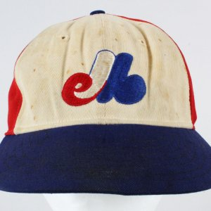 Gary Carter Game-Used Baseball Hat-  Expos COA 100% Authentic Team