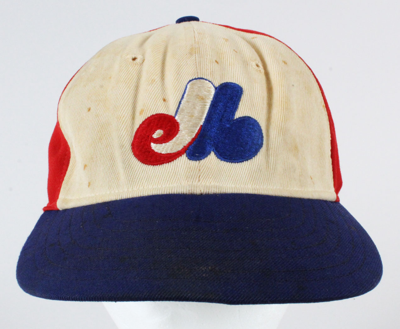 9da8e06a42e9a8 Gary Carter Game-Used Baseball Hat- Expos COA 100% Authentic Team
