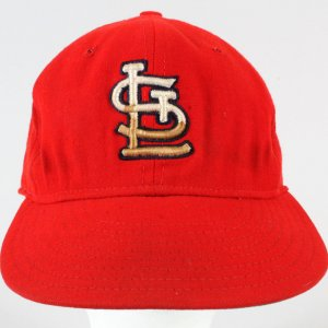 Bob Gibson Cardinals Game-Used Baseball Hat -COA 100% Authentic