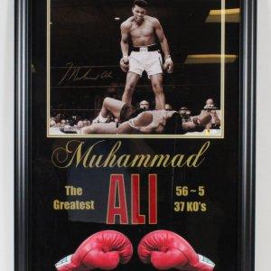 Muhammad Ali Signed Photo - COA