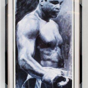 Muhammad Ali Signed Lithograph - COA JSA