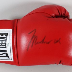 Muhammad Ali Signed Boxing Glove - COA