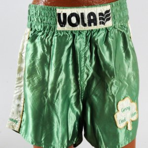 Gerry Cooney Fight Worn Trunks - COA 100% Authentic Team