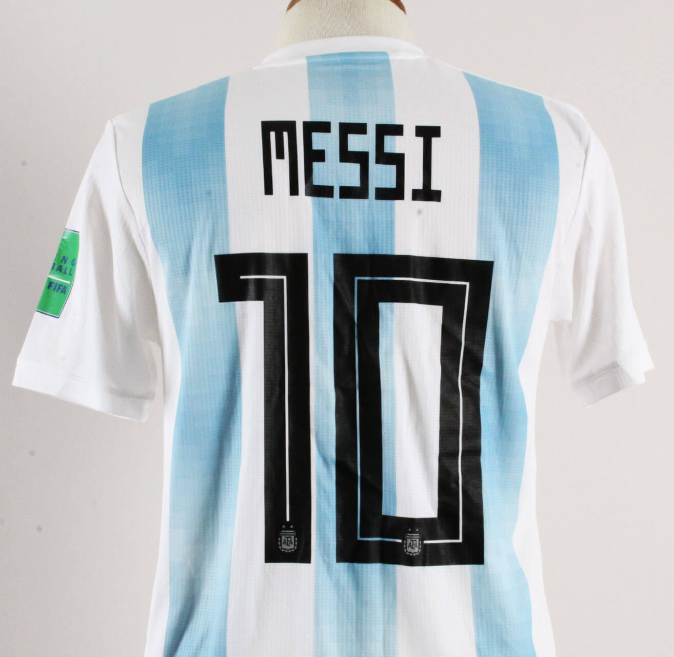 Lionel Messi Game-Worn Jersey Argentina World Cup 2018 – COA 100% Authentic  Team . 0923115b0