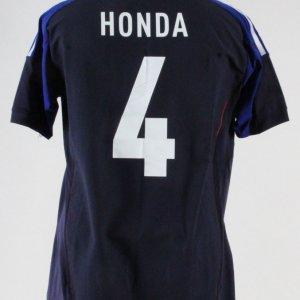 Keisuke Honda Game-Issued Jersey Japanese National Team – COA 100% Authentic  Team f015e9829