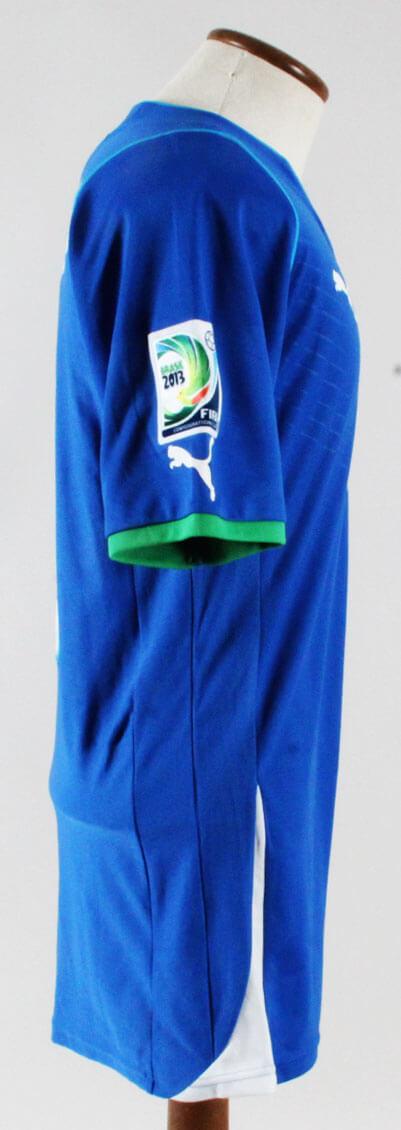 Mario Balotelli Game-Worn Jersey Italian National Team – COA 100% Authentic  Team  . f30d18e98
