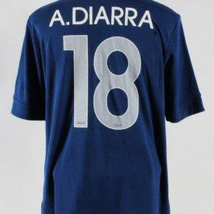 Alou Diarra Game-Worn Jersey France National Team – COA 100% Authentic Team a66c8f9cd