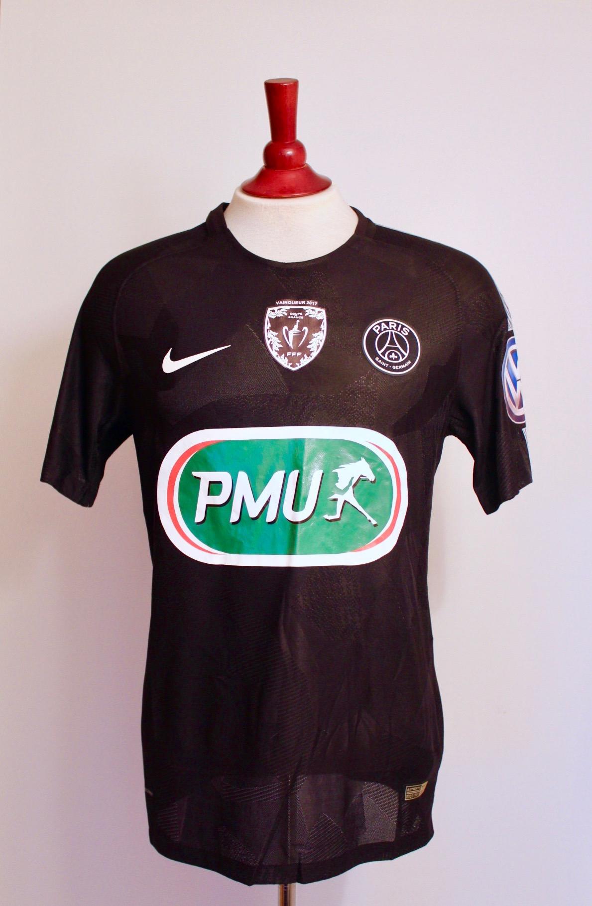 new product 4c38b b98e0 Kylian Mbappe Game-Used #10 Paris Saint Germain Shirt. 2017/18 Coupe de  France (Winners).