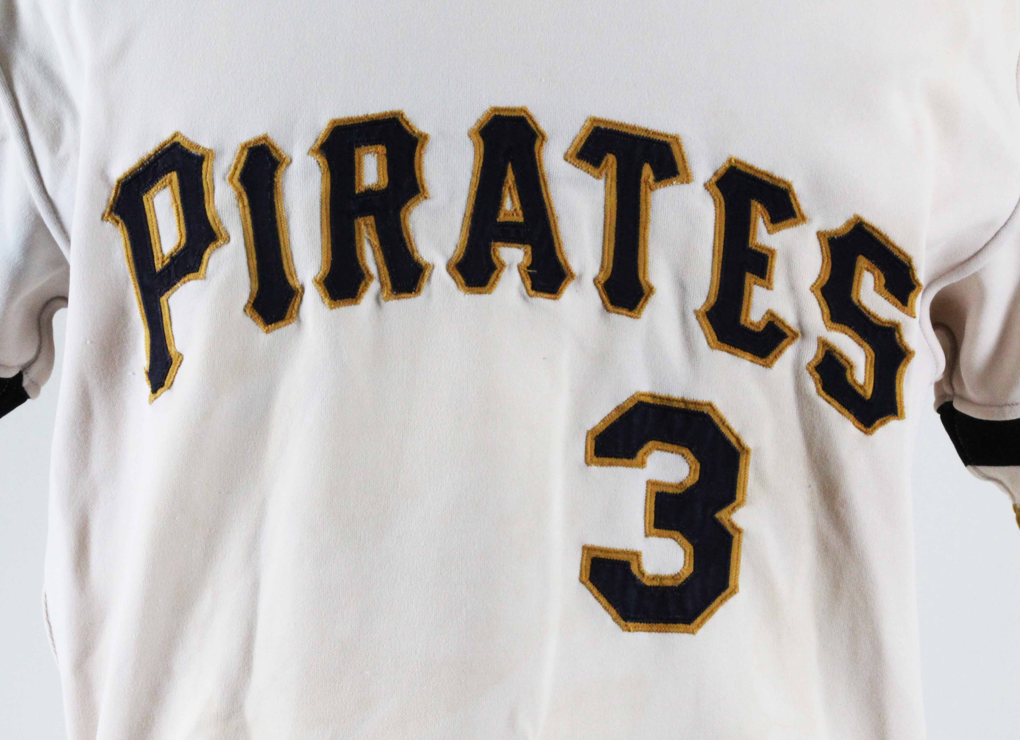 354dfee3c48 ... buy 1974 richie hebner game worn jersey pirates coa 100 authentic team  449a4 8f6aa