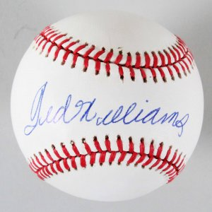 523d5d037 Ted Williams Signed Baseball Red Sox – COA JSA
