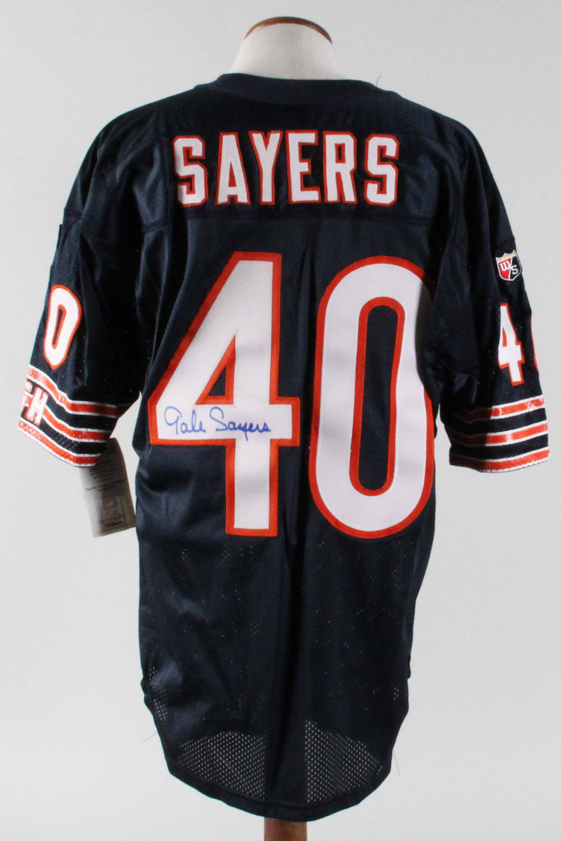 newest c7ee7 18c61 Gale Sayers Signed Jersey Bears Pro Line Authentic - COA JSA