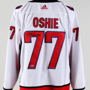 T.J. Oshie Signed Jersey Capitals – COA Beckett d357dadbf