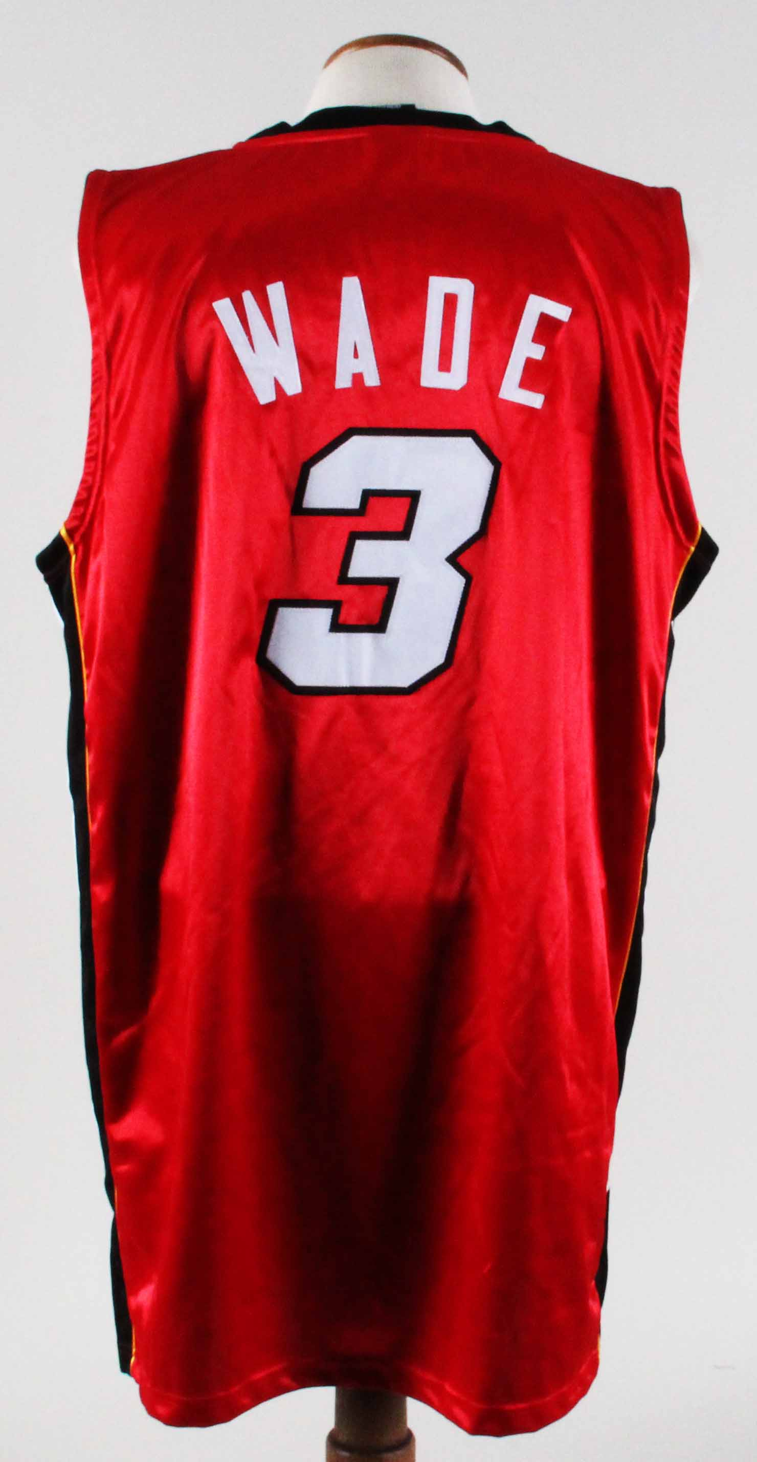new concept 67dbf e4a76 Dwayne Wade Authentic Jersey Miami Heat