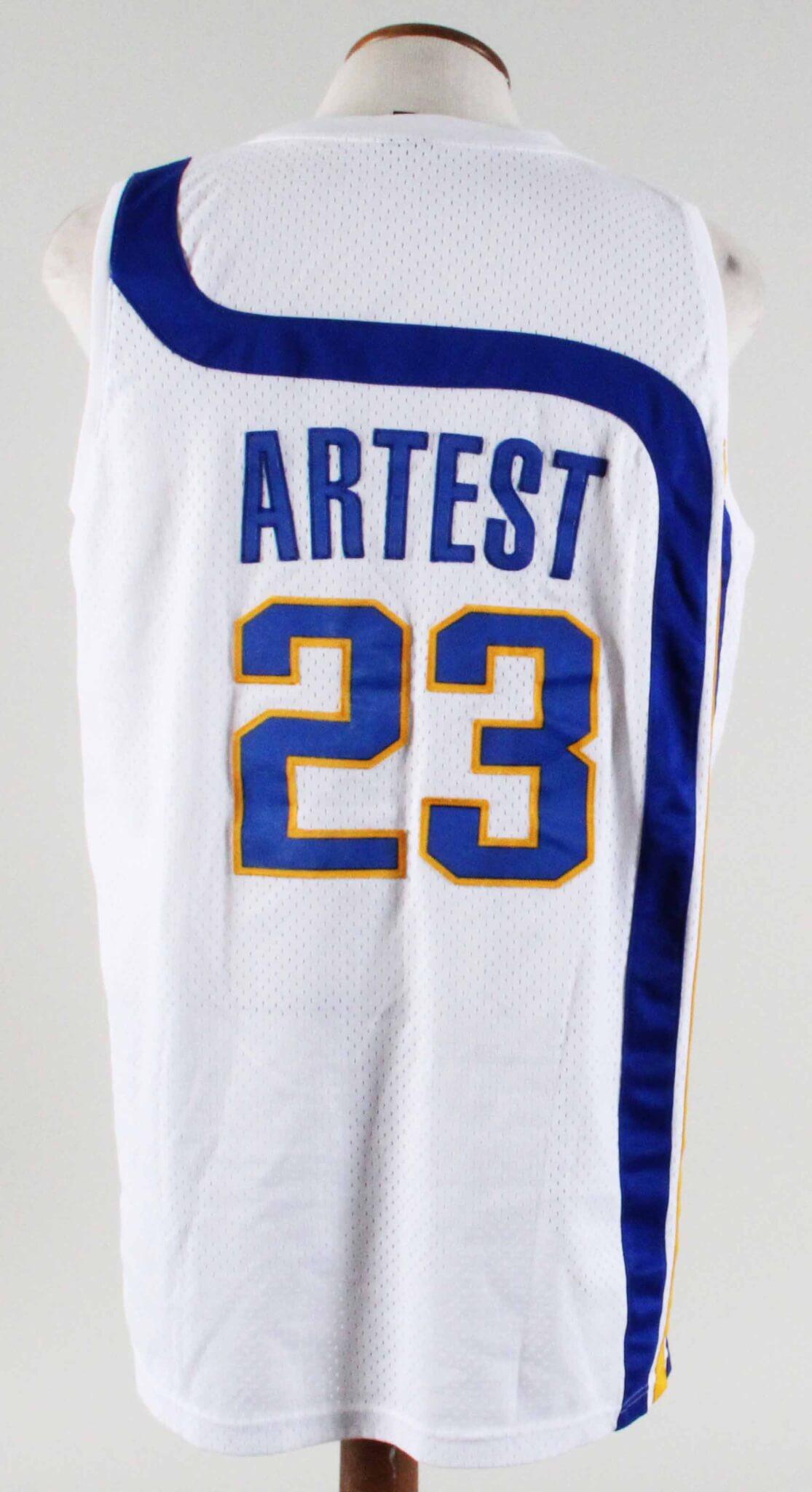 3879de3de506 Ron Artest Authentic Jersey Indiana Pacers