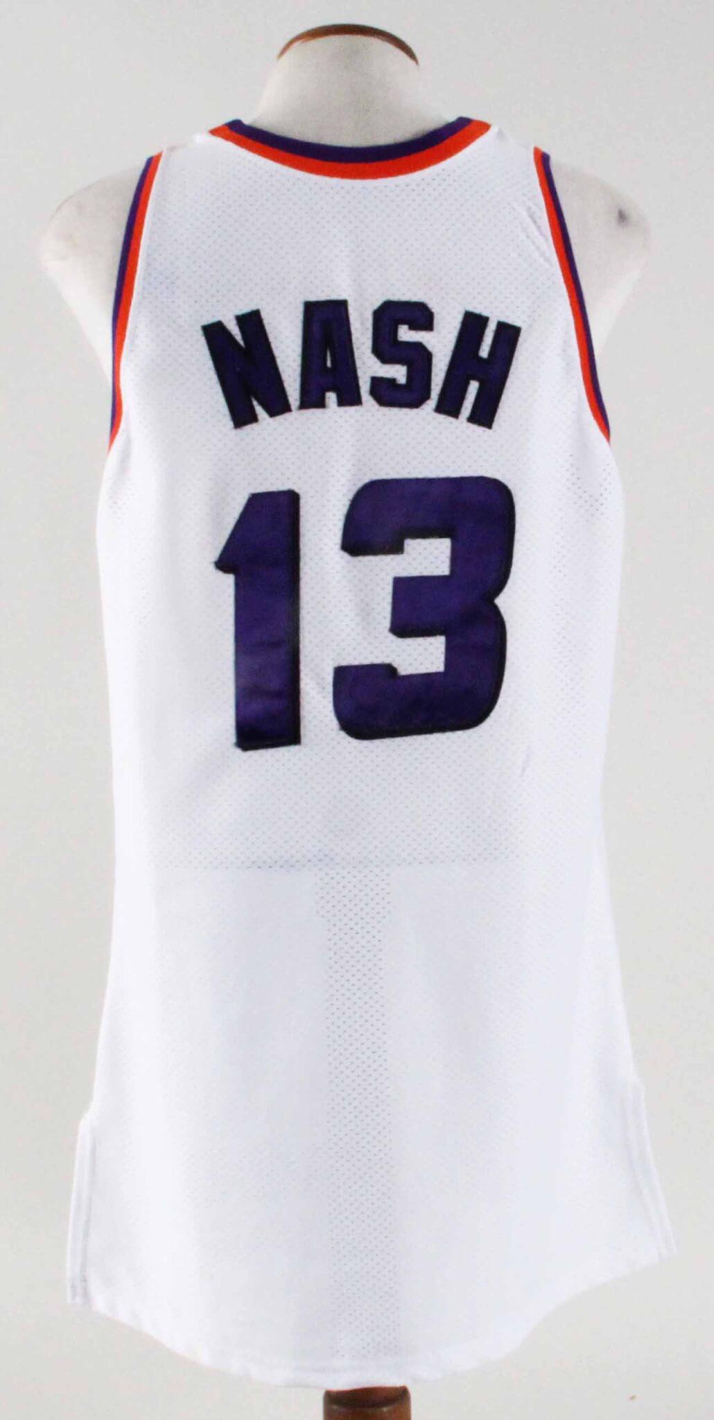 best sneakers 2e256 d4fbc 1995-96 Steve Nash Game-Worn Rookie Jersey -Suns Grade ...