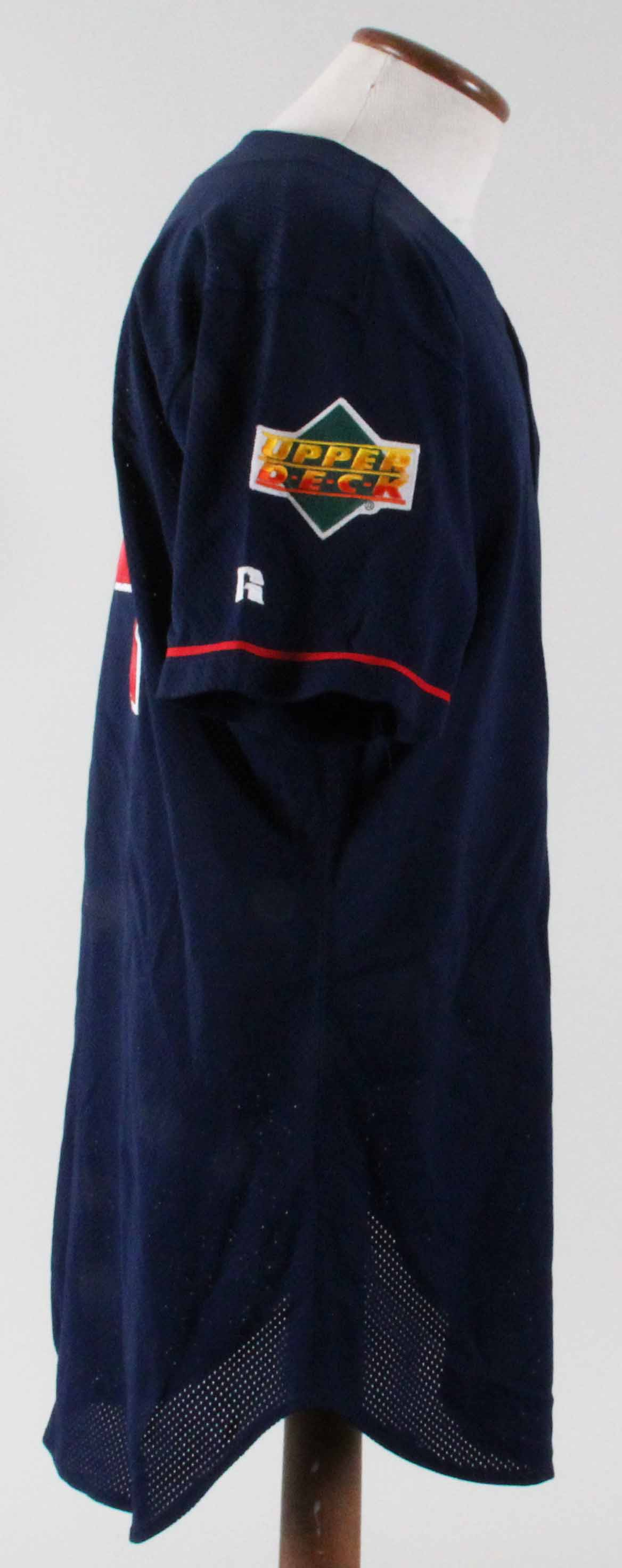 9702200e796 1993 John Orton Game-Worn Batting Practice Jersey Angels – COA 100%  Authentic Team