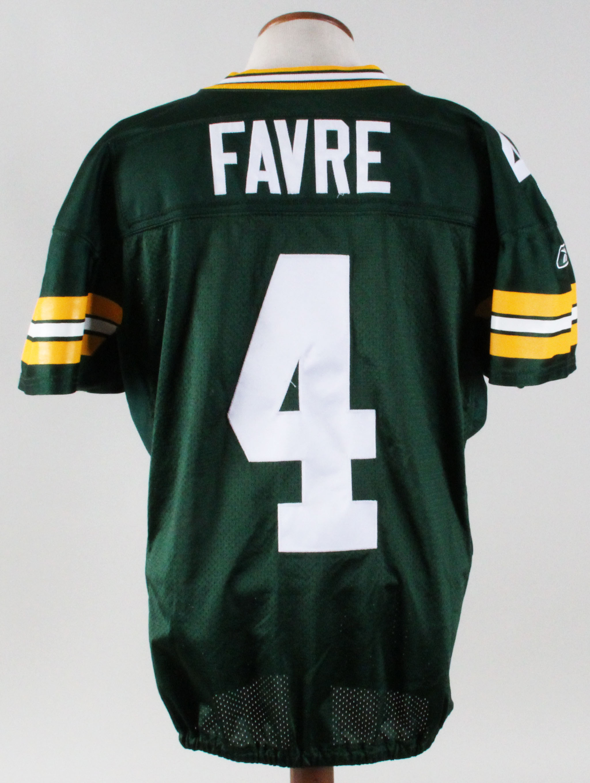 huge discount cf274 ae95c 2004 Brett Favre Game-Worn Jersey-Greenbay Grade: 11/20 ...