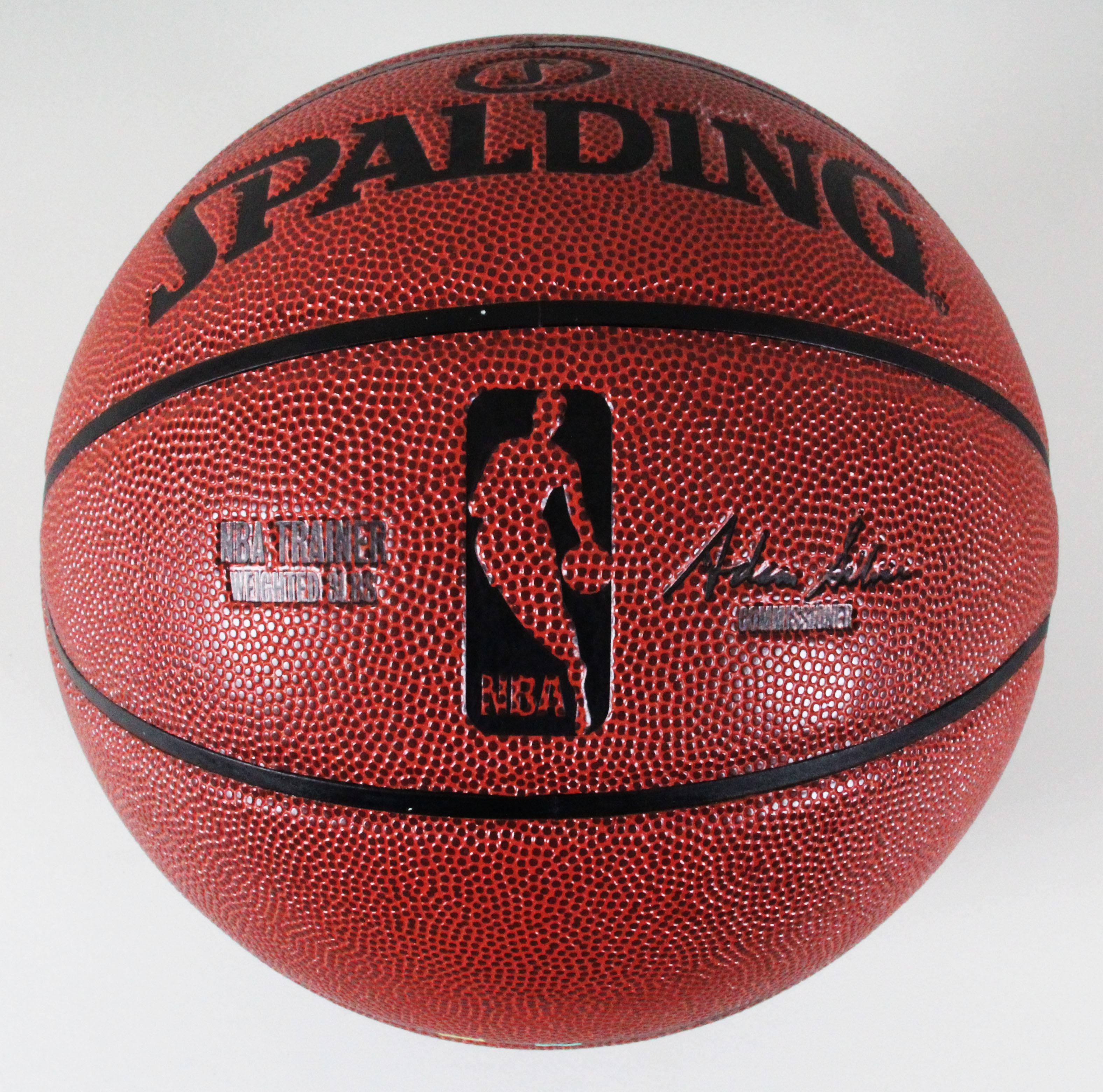 78437ecd36b Magic Johnson Signed Training Basketball Lakers – COA JSA