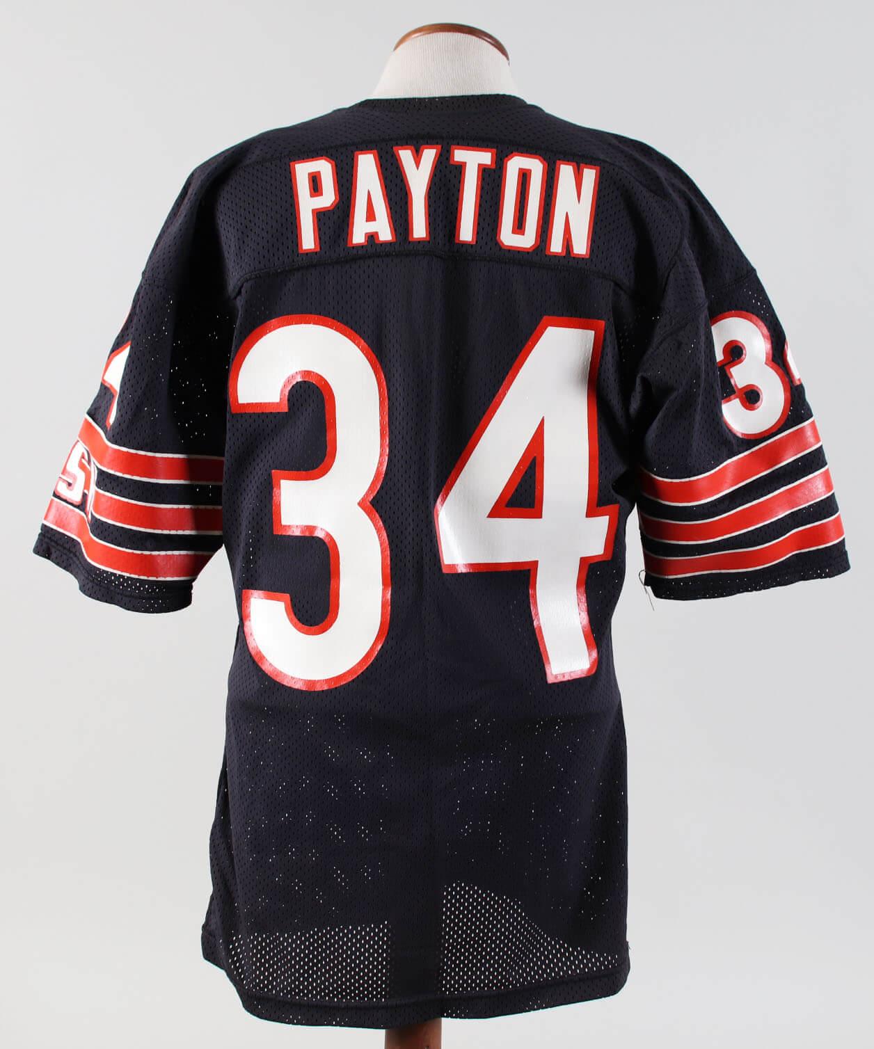 a20f89f3942 Walter Payton Game-Worn Jersey-Bears 1985 | Memorabilia Expert
