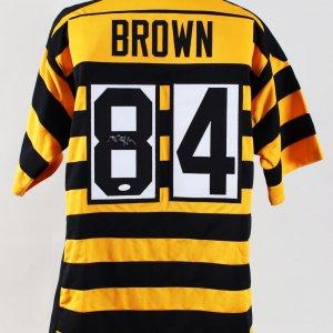 46ea4dc7d Antonio Brown Signed Jersey Steelers – COA JSA