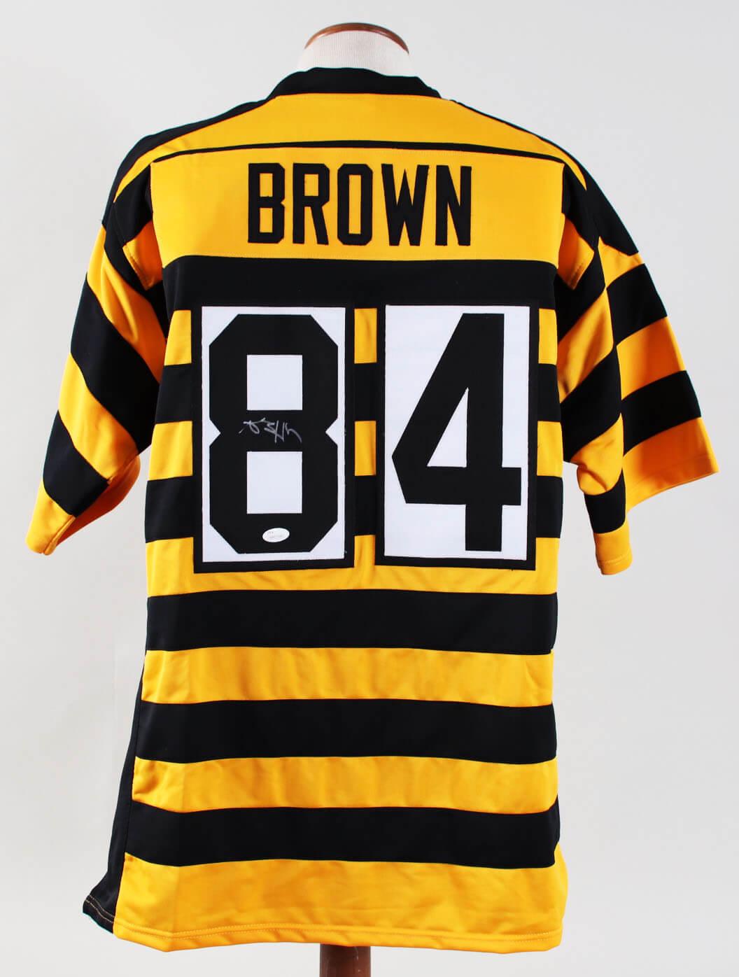 size 40 b3bde 06bef Antonio Brown Signed Jersey Steelers – COA JSA ...