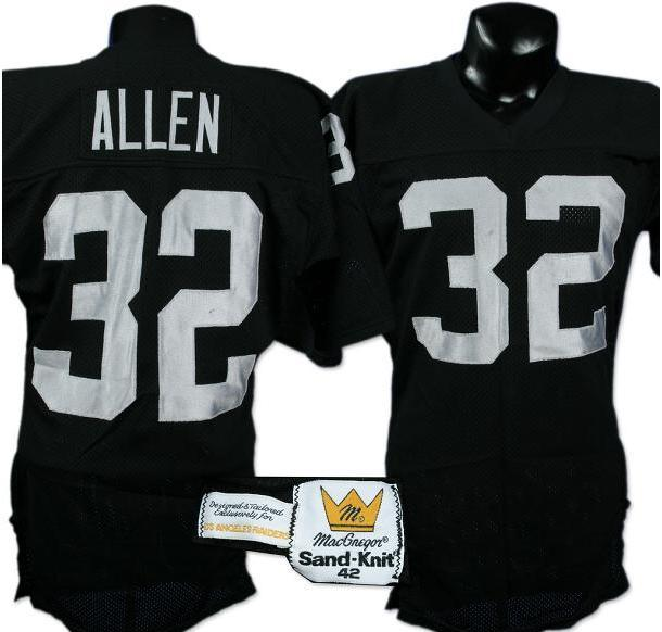 info for a2806 38852 marcus allen oakland raiders jersey