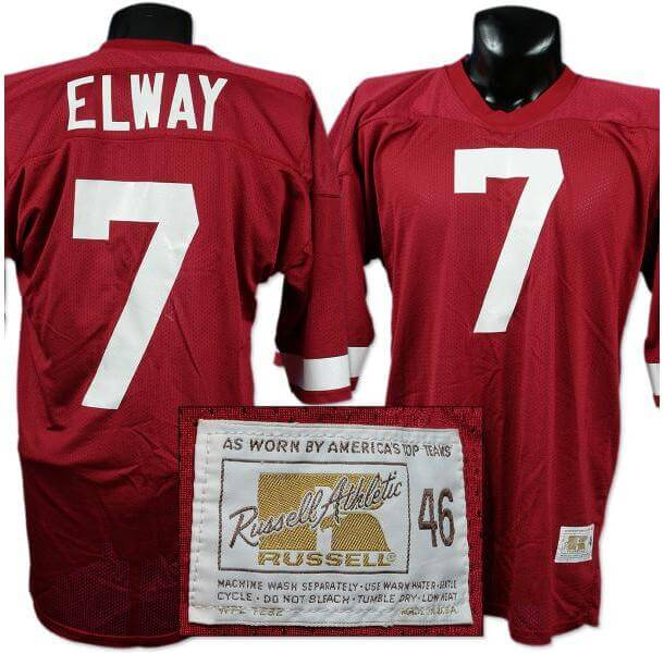 new arrival 627a1 d2124 John Elway Stanford Freshman Home Game-Used Jersey.