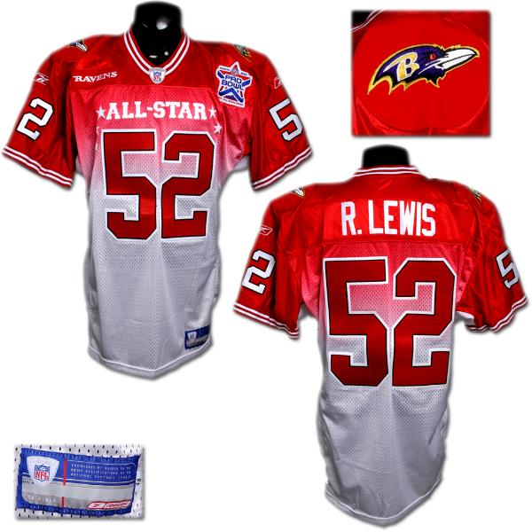 new style c13b0 bc6a3 2002 Ray Lewis Game-Worn Pro Bowl Jersey