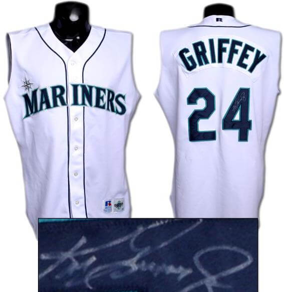1998 Ken Griffey Jr. Mariners Game-Worn Vest/Jersey