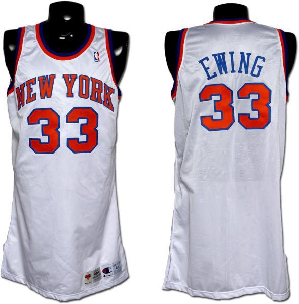 186b5c134a6 1994-95 Patrick Ewing Game-Worn, Signed Knicks Jersey | Memorabilia Expert