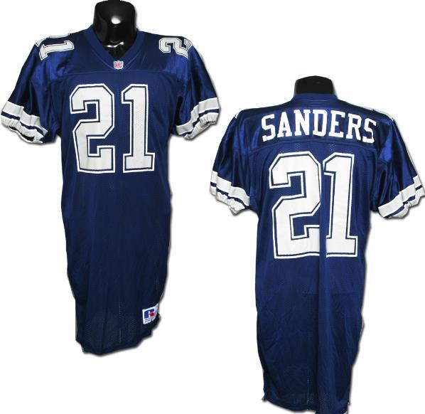 wholesale dealer 20a30 fe41d Deion Sanders Game-Worn Cowboys Jersey