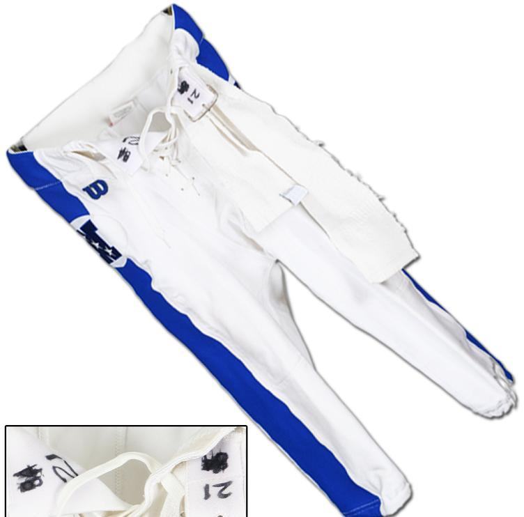 purchase cheap b00be 4674d 1999 Deion Sanders Game-Worn Pro Bowl Jersey Pants w/ Towel