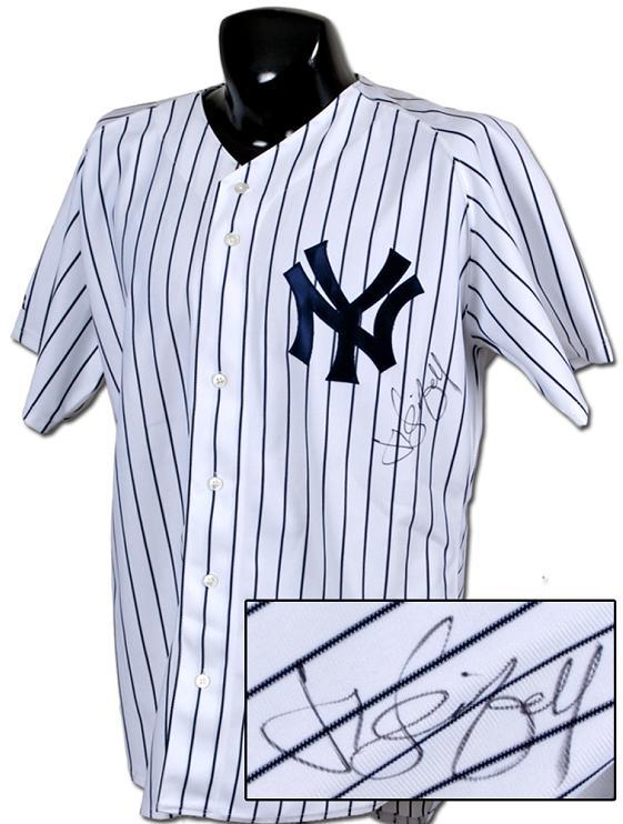 online retailer 852c3 69da9 Jerry Seinfeld Signed Yankees Jersey (Jeter)